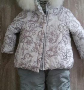 Зимний костюм Kiko 86 размер до 2х лет.