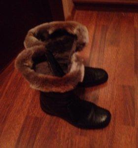 Ботинки зимние бу