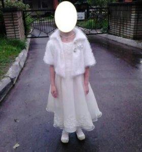 Детское праздничное платье и болеро