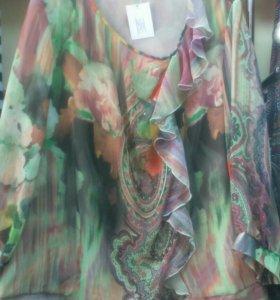 Блузы,распродажа до 30%,Московские фабрики.