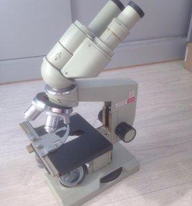 Биологический микроскоп БИОЛАМ ЛОМО АУ-12 СССР