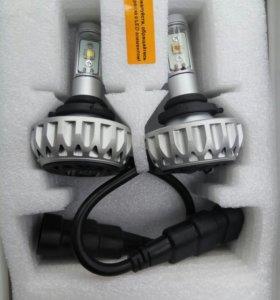 К-кт LED ламп 30вт 5000к HB4 бу InterPower