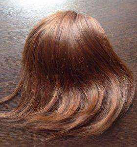 Шиньон из натуральных волос