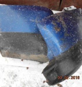Бампер Fiat Doblo
