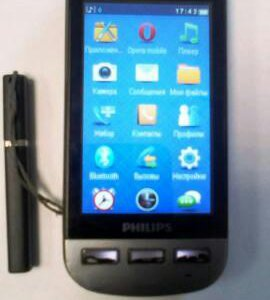 Продам телефон philips xenium x525