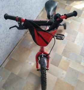 Велосипед детский 4-х колёсный