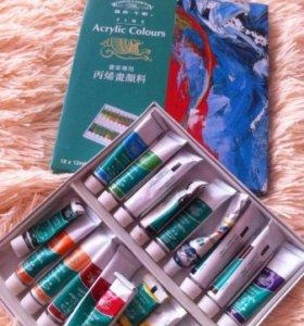 Гель для наращивания ногтей,типсы,акриловые краски