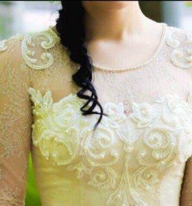 Продам платье выпускное (свадебное)