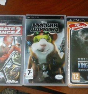 Игры(9шт) для PSP(PlaystationPortable)