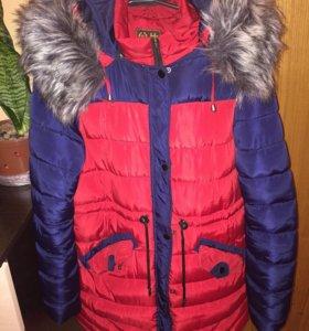 Куртка женская зимняя р-р 50