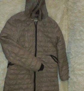 Куртка демисезонная ,кожзам