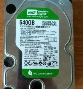 Жесткий диск 640гб
