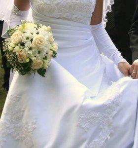 Платье свадебное 44-46
