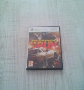 Need for speed THE RUN на XBOX 360