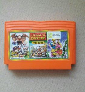 Dendy Junior 8 bit YH-8015 сборник игр
