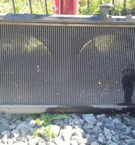 Радиатор на Honda Airwave