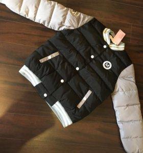 Бомбер женский новый куртка