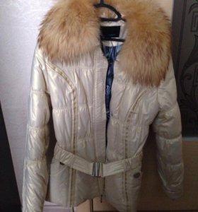 Куртка,мех-лиса