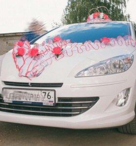 Комплект свадебных украшений на машины