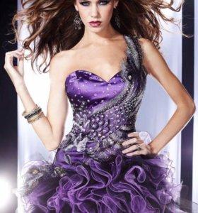Новое вечернее платье на 46-й