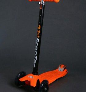 Знаменитый 21 скутер со свет колесами