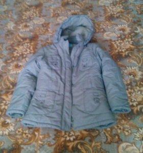 Куртка зим. Очень теплая.