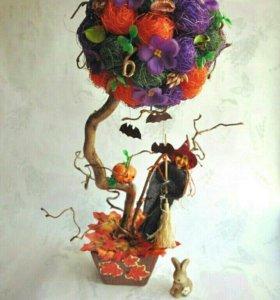 Топиарий, дерево счастья