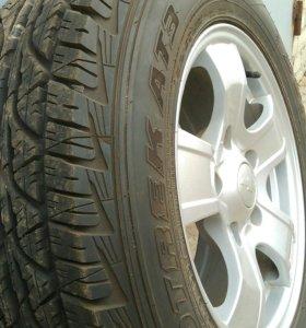 Dunlop Grandtrek AT3 215/70 R16 100T- 5 шт