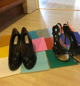 Туфли лаковые, кожаные, Kenzo
