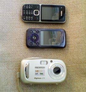 Телефон,фотоаппарат