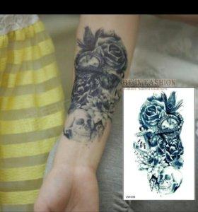 Татуировка переводная временная