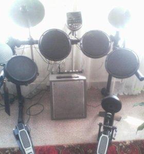 Электронная барабанная установка ALESIS DM6USB Kid