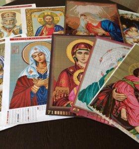 Схемы вышивания крестиком