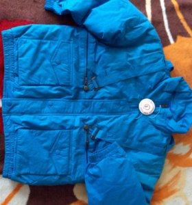 Куртка зимняя пух длина рукава - 49 см, длина по с