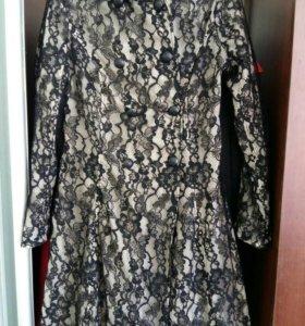 Пальто кардиган накидка пиджак