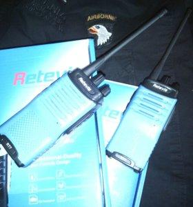 Комплект профессиональных UHF радиостанций