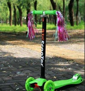 Самокат детский Скутер МаКси