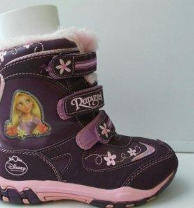 Обувь. Сапожки, ботинки детские зимние