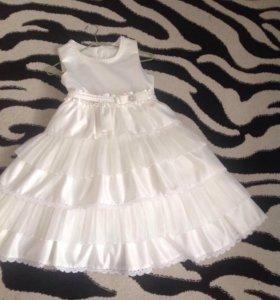 Платье для девочки 10 - 11