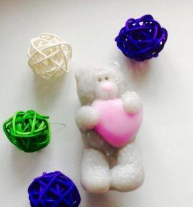Мишка 3D.Мыло ручной работы