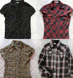 Рубашки на девочку (xs)