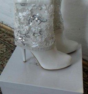Свадебные ботинки