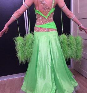 Платье для спортивных бальных танцев ST