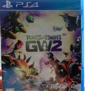 Диск новый в упаковке PS 4 (подарили одинаковые)