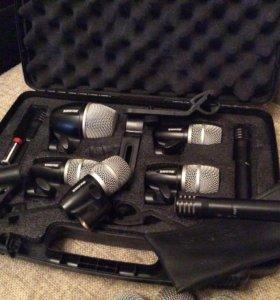 Микрофоны Shure для подзвучки барабанов