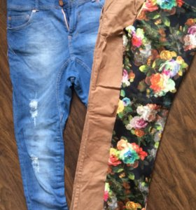Джинсы , брюки