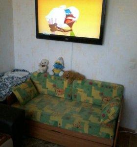 Кровать подростковая (мини диван-трансформер)
