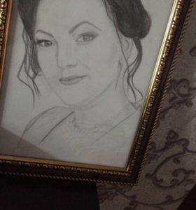 Портреты в карандаше по фотографии
