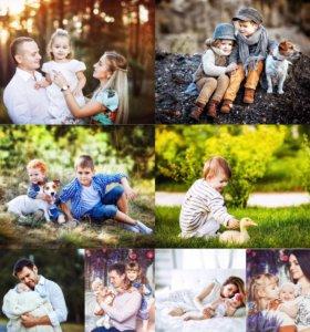 Фотосессия детская, семейная, индивидуальная.