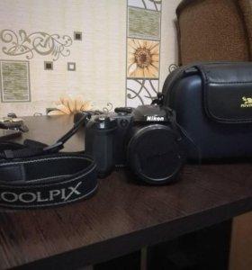 Фотоаппарат Nikon coolpix с сумкой